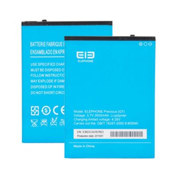 ELEPHONE G7 battery 2650MAH