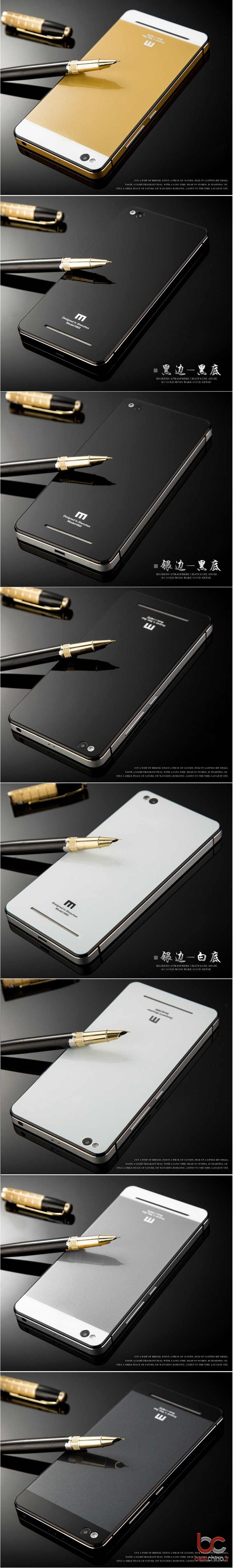 Xiaomi Redmi 3 Aluminium Back Cover (1)