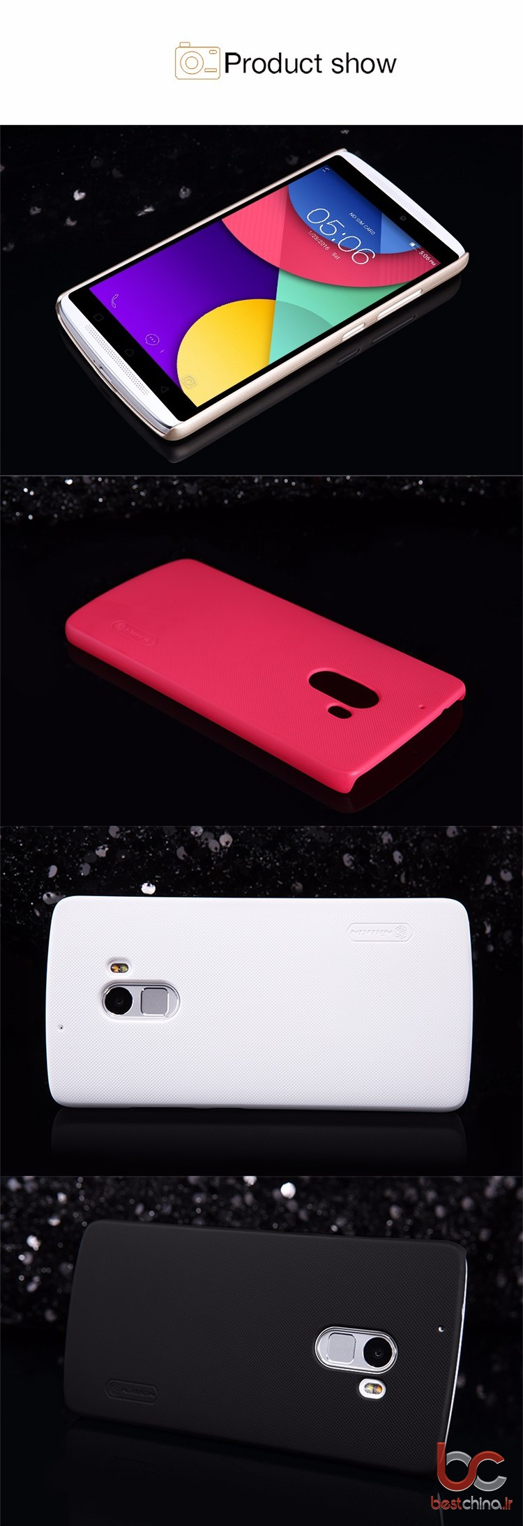 Lenovo vibe x3 Youth nillkin back cover (2)