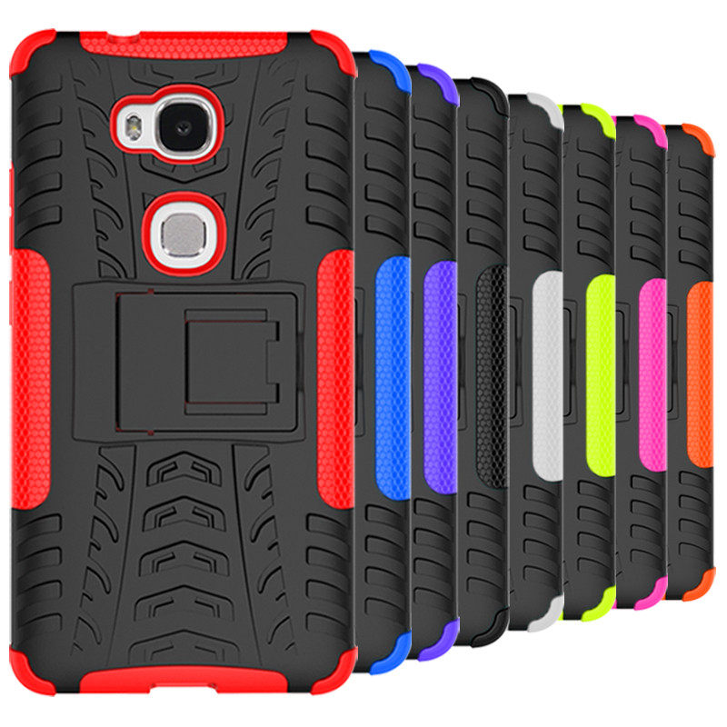 Huawei Honor 5X TPU Armor Back Cover