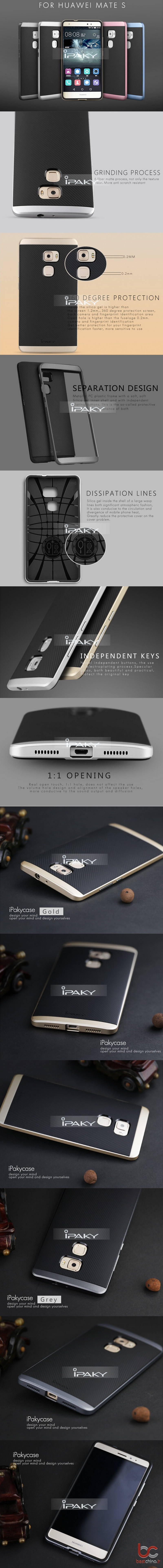 Huawei Mate S iPaky Back Cover (1)