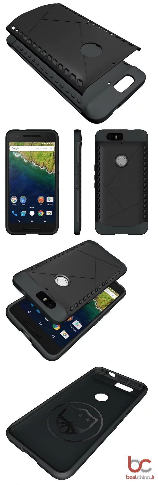 Huawei Nexus 6P TPU Back Cover (1)