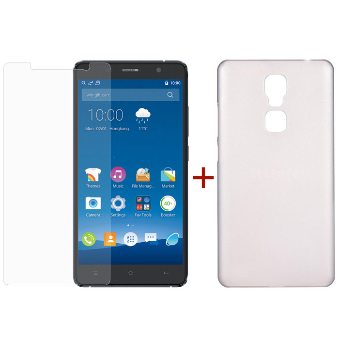 CUBOT Cheetah Tempered Glass Screen Protector & Silicone Case