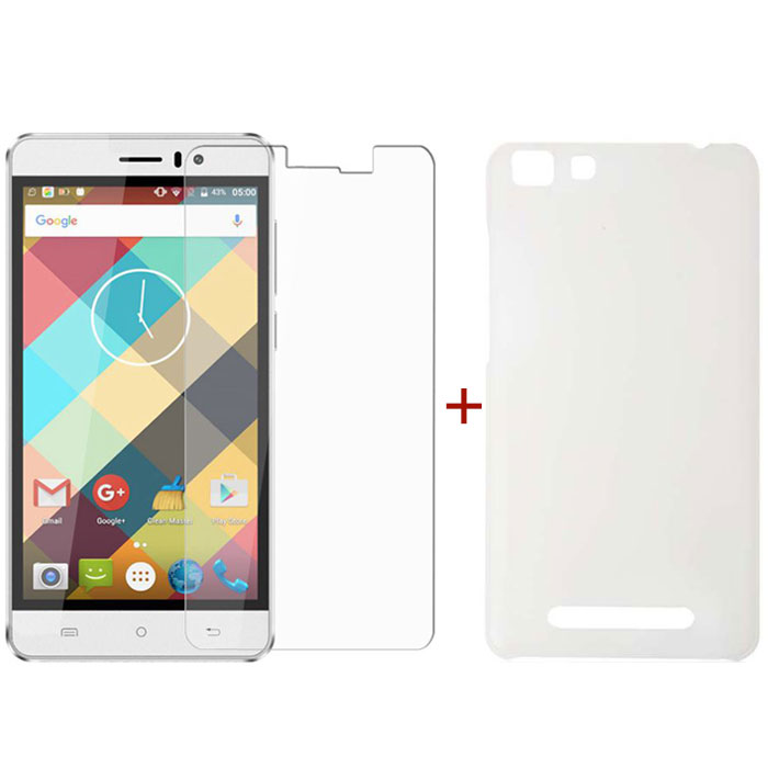 CUBOT Rainbow Tempered Glass Screen Protector & Silicone Case