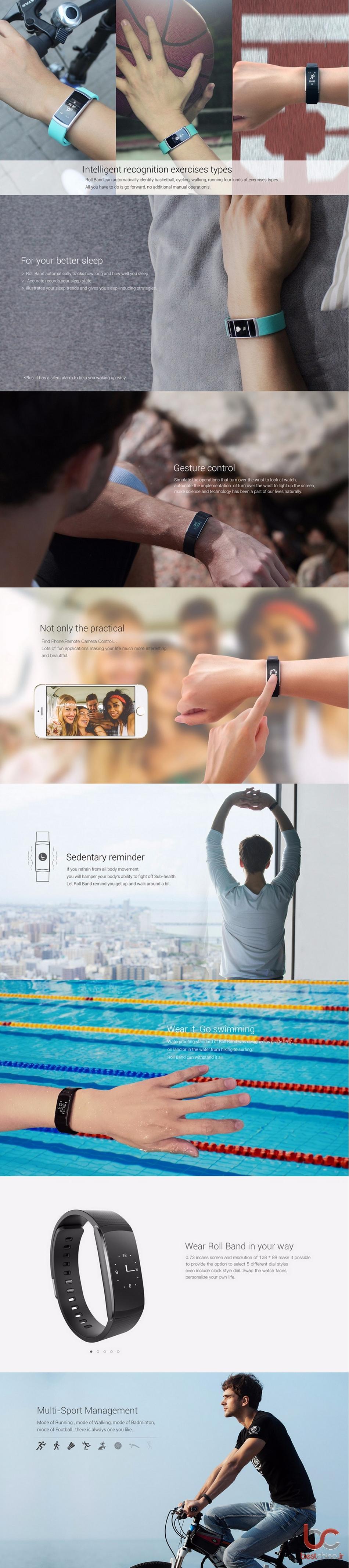 IWOWN I6 PRO smart bracelet (2)