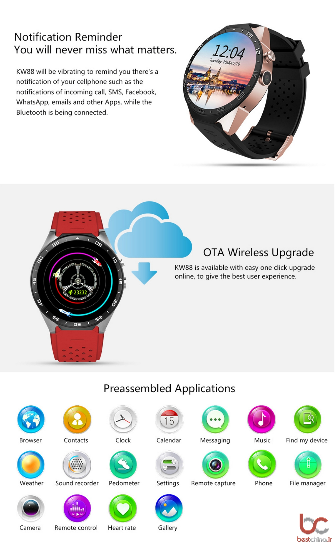 KingWear KW88 Smartwatch (6)