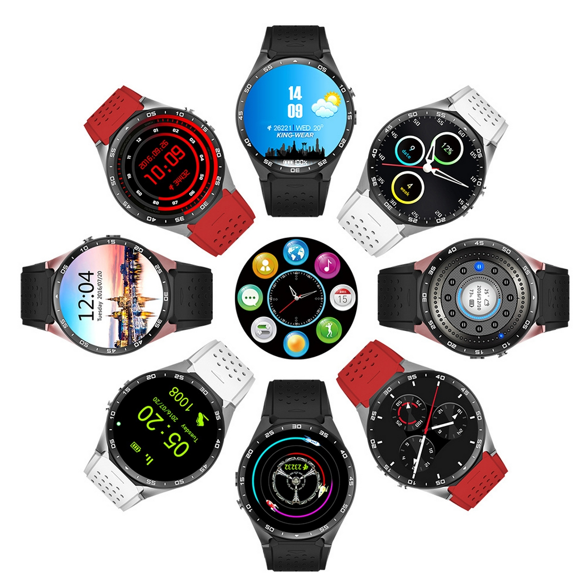 KingWear KW88 Smartwatch (7)