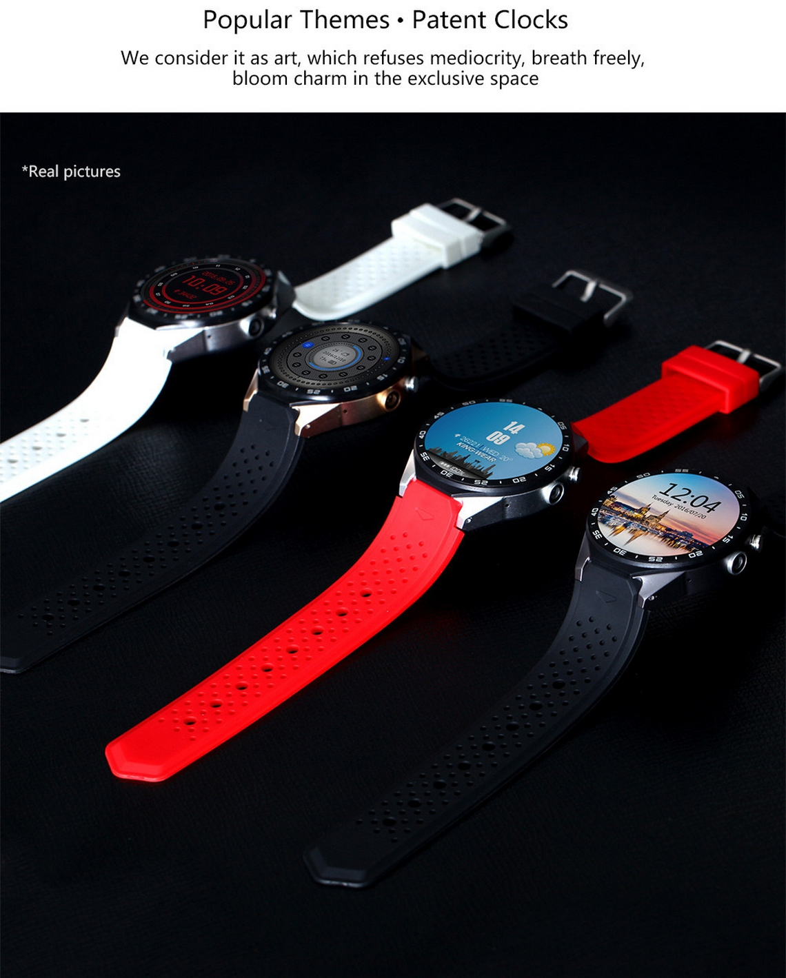 KingWear KW88 Smartwatch (8)