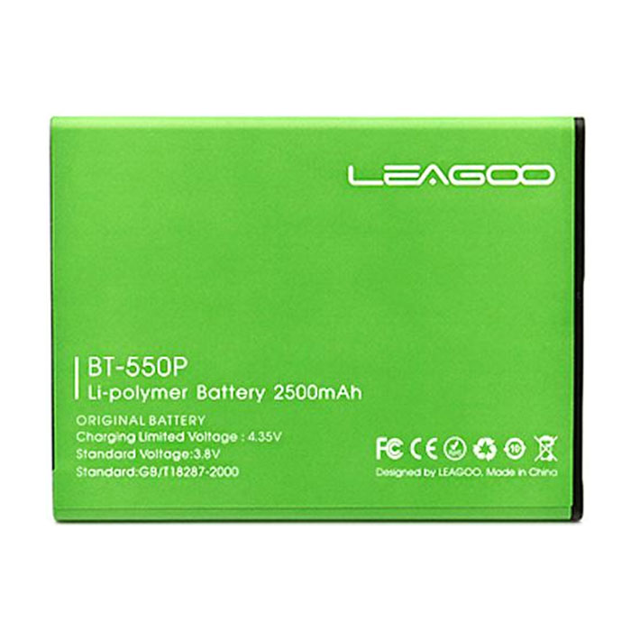 LEAGOO Lead 1/Lead 1i 2500mAh Battery