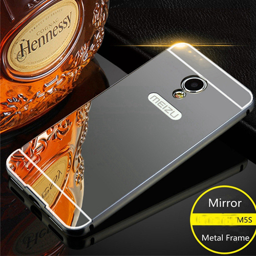 Meizu M5s Mirror Aluminium Back Cover