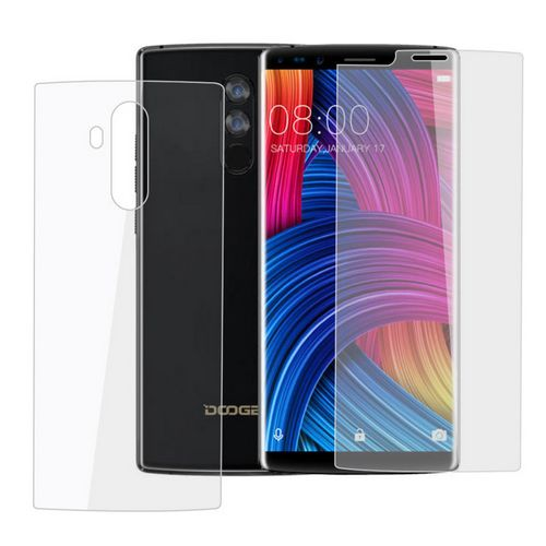 DOOGEE Mix 2 Front And Back Glass Screen Protector