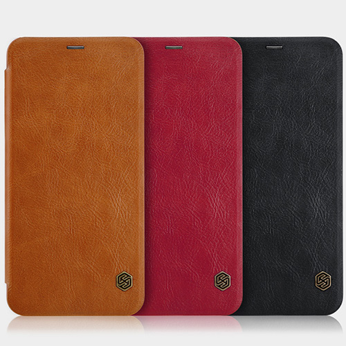 OnePlus 5T Leather Flip Cover