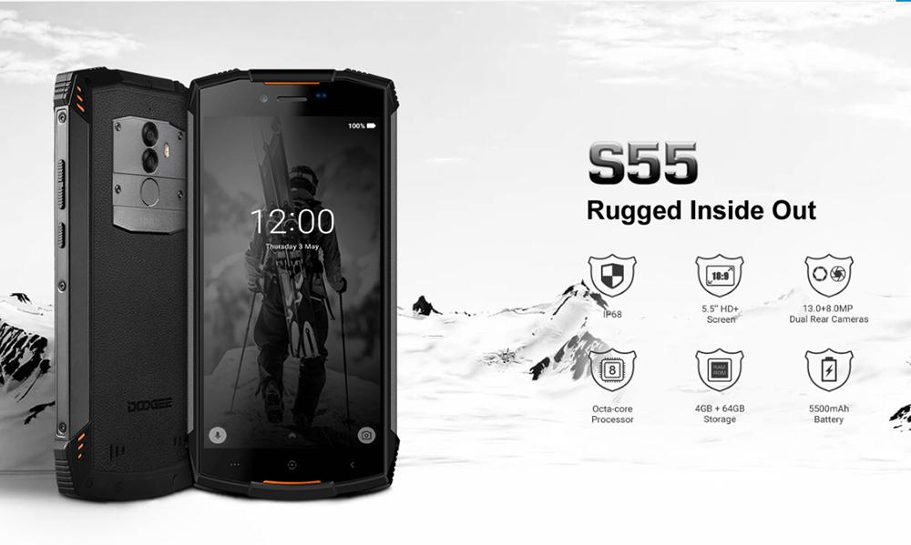 گوشی دوجی S55