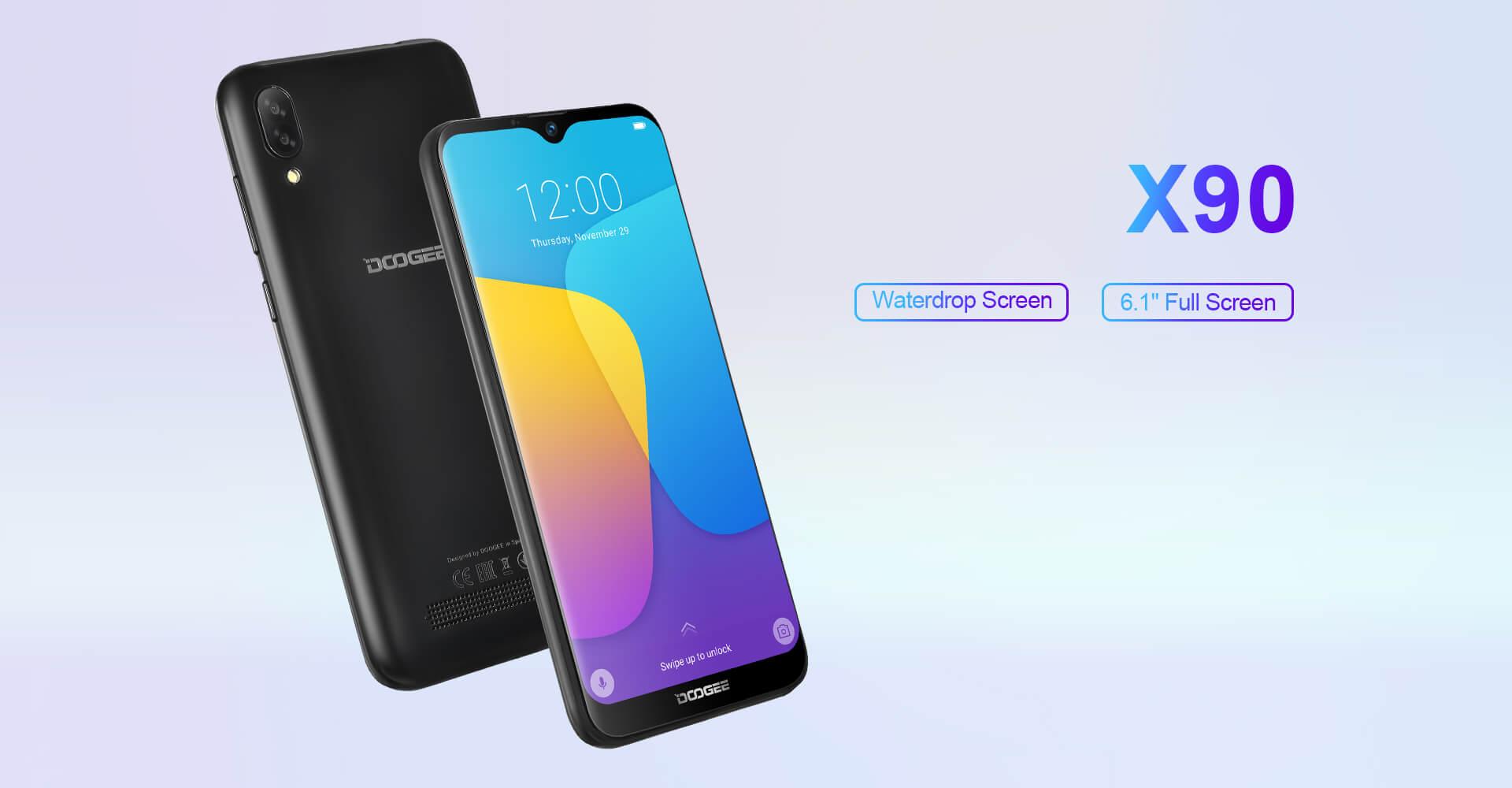 گوشی دوجی X90