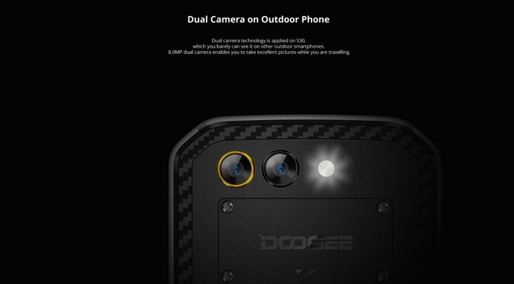 گوشی DOOGEE S30