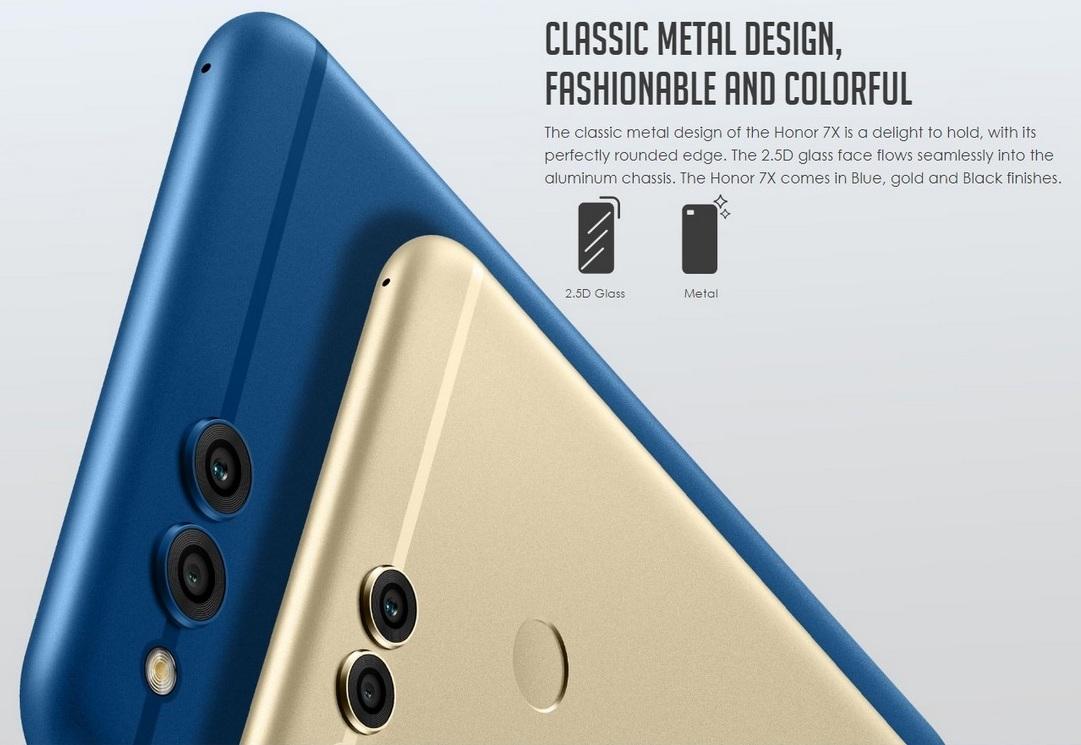 گوشی Huawei Honor 7X