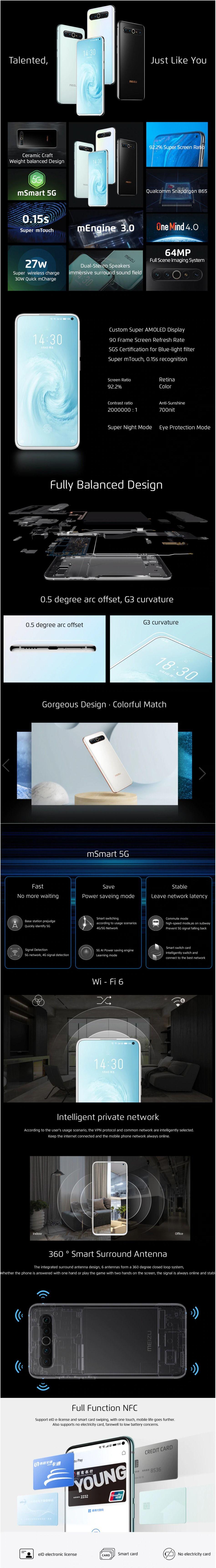 گوشی میزو 17 Pro
